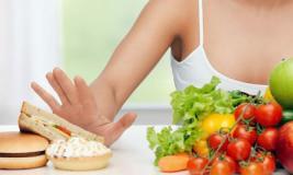 Терапия начинается с диеты